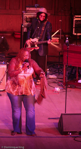 Don Was and Thornetta Davis at 2009 Concert of Colors