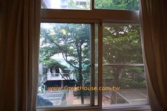 國泰市政尊園:窗景