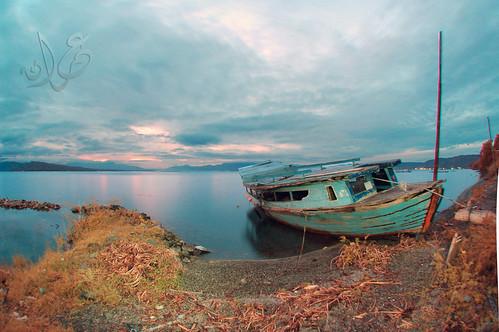 Sunrise at Pantai Tarabunga, Balige, Danau Toba