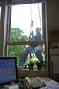 window washer (pamelakliment) Tags: office officeview windowwasher kliment timesheet pamelakliment