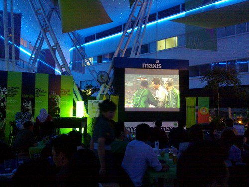 Maxis World Cup Screening