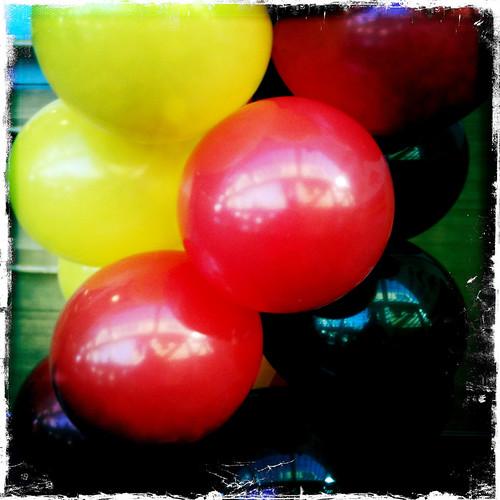 NAIDOC Week balloons at work