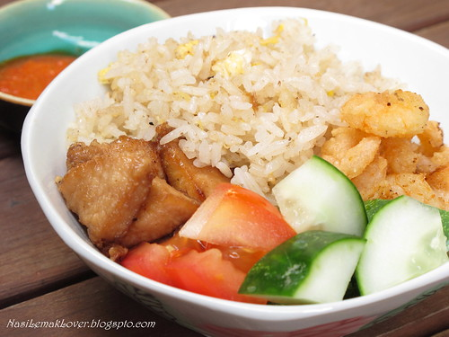 Thai Belacan fried rice ( shrimp paste fried rice)