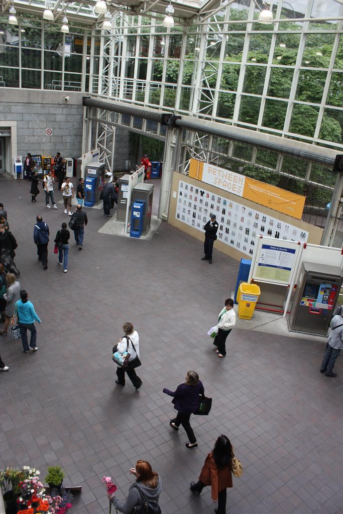 Burrard Station Concourse