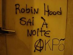 Robin Hood sai à noite