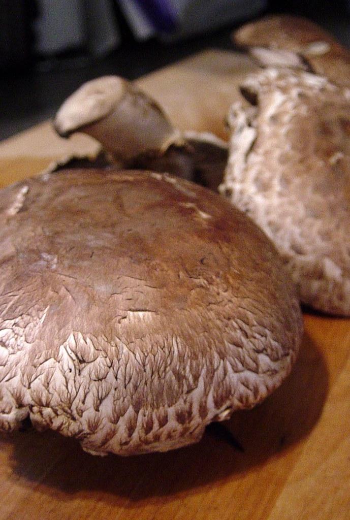 """Barbecued"" Portobello Mushrooms"