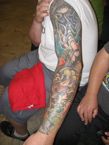 New style sleeve tattoos