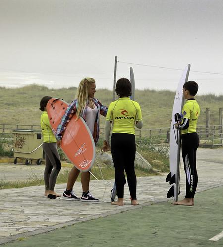 Rip Curl Surf School Doniños Group