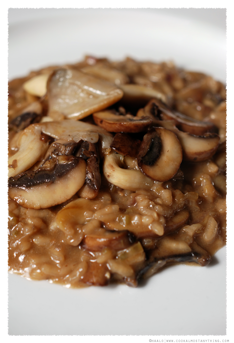 black truffle risotto© by Haalo
