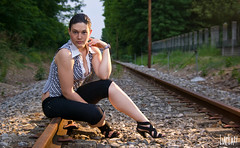 Aspettando un raggio di sole (LucLaz!) Tags: pentax tracks railway shirley valentina pentaxk10d