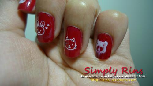 Konad Stamping Nail Art 009