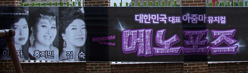 Menopausia, el musical