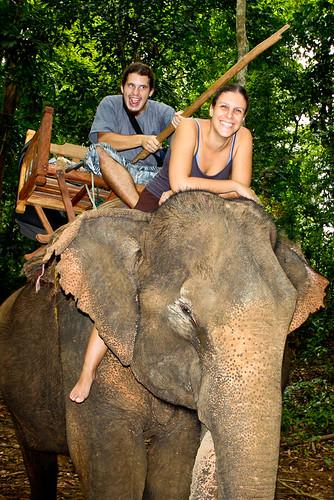 Laura Y Sergio en Elefante!