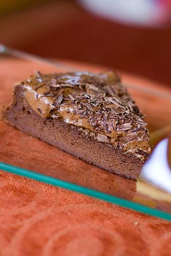Ilma jahuta šokolaadikook / Flourless chocolate cake