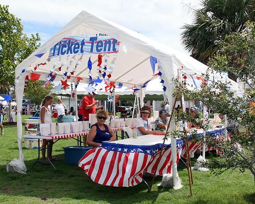 Clamerica Ticket Tent