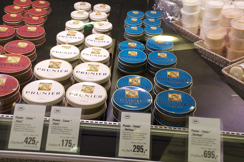 695 euro for that tin of caviar