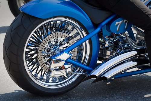 Ironhorse in the blue