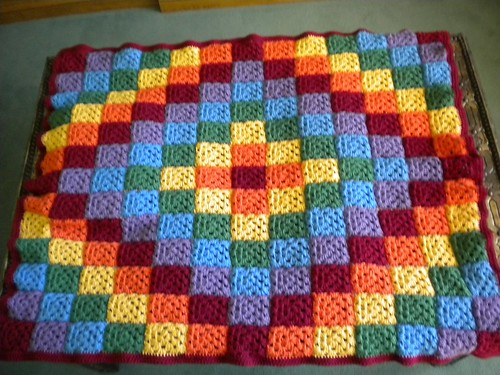 Rainbow blanket for Aodhan