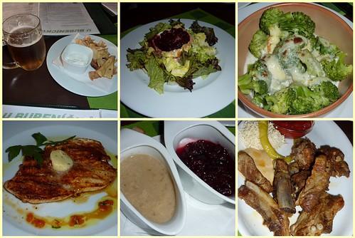 Comida en U Bubenicku en Praga
