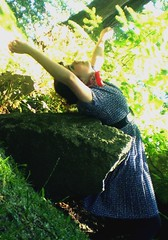 I am the shape of a lonely soldier (alesha joy.) Tags: trees woman grass rock soldier doll dress shapes falling rotation ilovehowdifferentthisis