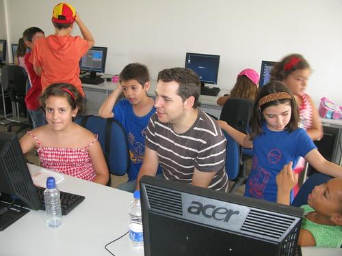Campus de software libre Guadalinex para niños