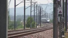 tgv tricastin speed (snake&luigi) Tags: france film speed train french grande video high trains duplex tgv ligne sncf vitesse reseau