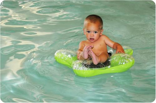 H swimming
