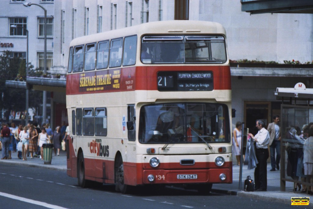 PCB Leyland Atlantean AN 134 - Ply., Royal Parade - 1984 (1)