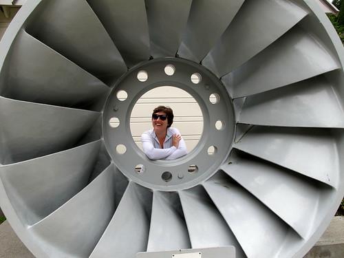 Anna in a Turbine