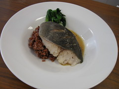 Steamed Black Cod