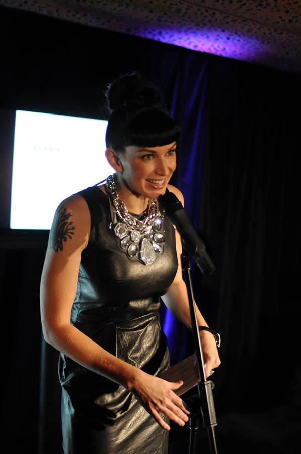 Mink Sadowsky compare, 2010 Chambord Shine Award Sydney