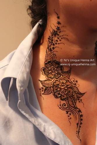 Can Yah S Body Art Henna 2010 C Nj S Unique Henna Art A Photo On