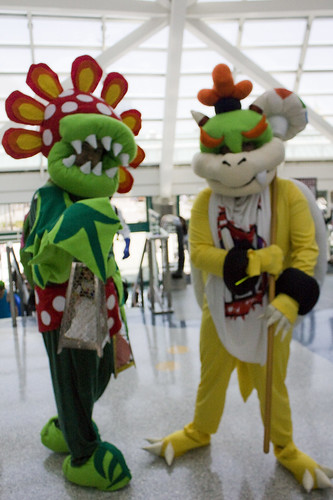 Petey Piranha u0026 Bowser Jr. from Super Mario Galaxy & Petey Piranha u0026 Bowser Jr. from Super Mario Galaxy - a photo on ...