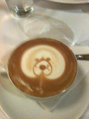Woof, woof, lovely coffee @thefalls