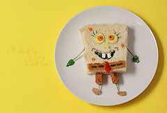 Sponge Bob =D (Sara ) Tags: red yellow bread sara explore spongebob  bysara