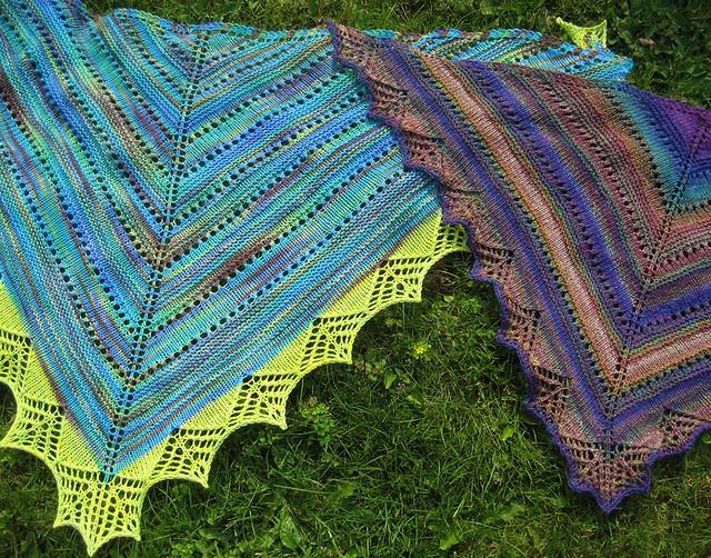 Tanis Fiber Arts: Prism Shawl Pattern