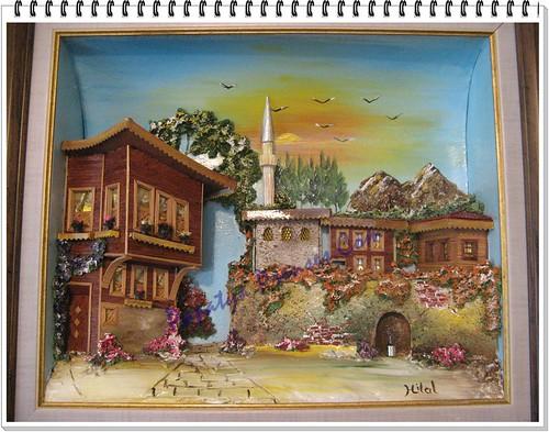 ahşap rölyef tablolar (3)