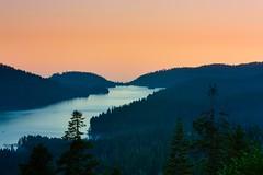 Huntington Lake, California (eoind) Tags: california longexposure sunset lake pass astrophotography kaiser rd startrails huntingtonlake