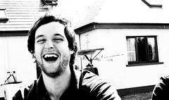 Laughing David