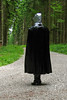 Black & Silver II (Rainhood) Tags: plastic cape rainwear pvc kapuze regencape