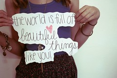 Beautiful. (lexielacava) Tags: girl beautiful peace quote skirt