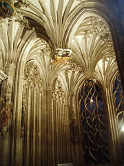 Interior of Choir Screen, Albi (Aidan McRae Thomson) Tags: france cathedral gothic medieval tarn albi cathedralestececile