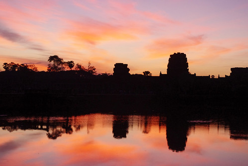 Moat at Angkor Wat