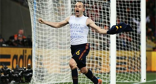 Iniesta World Cup 2010 Winning Goal