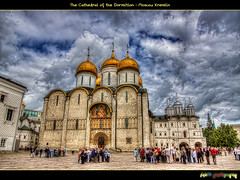 The Cathedral of the Dormition ( ) (foje64) Tags: canon cathedral russia moscow hdr kremlin pskov moskva cathedralsquare photoshopelements russianorthodoxchurch   russianorthodox  dormition photomatix  efs1022mmf3545usm cathedralofthedormition ivantheterrible moscowkremlin  canoneos500d    ivanivvasilyevich  saariysqualitypictures mygearandmepremium mygearandmebronze mygearandmesilver mygearandmegold mygearandmeplatinum mygearandmediamond