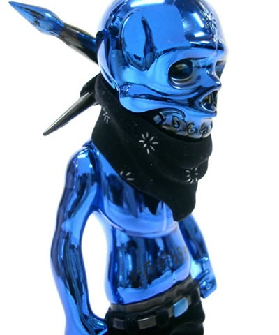 Rebel Ink Premium Chrome Blue