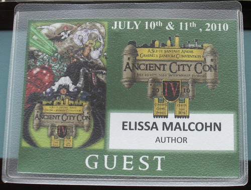 Ancient City Con IV badge