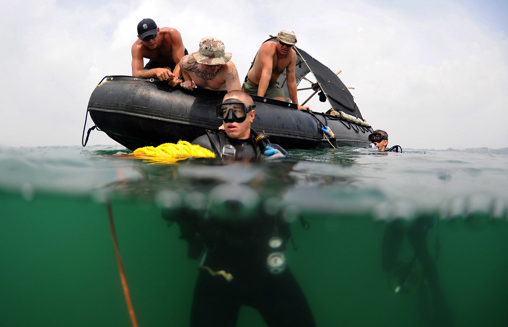 Preparing for a Recovery Search Dive