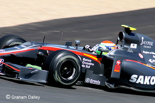 21 Sakon Yamamoto HRT F1 3506