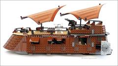 Lego 6210 Jabba's Sail Barge (FIGOUZ.NET) Tags: starwars lego r2d2 bobafett jabba lukeskywalker legostarwars leia c3po hansolo landocalrissian sarlacc gamorean jabbassailbarge lego6210